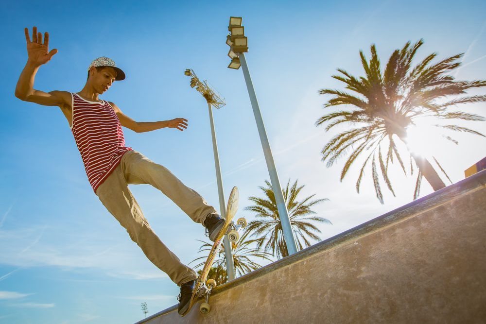 Stetson Europe Skate Advertising Werbekampagne Barcelona